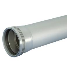 110 x 6000 mm SN4 Wafix PP grå med muffe