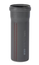 110 x 250 mm Afløbsrør PP grå