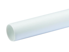 32x3000 mm hvid Wafix pp rør uden muffe