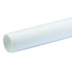 40 x 3000 mm hvid Wafix PP rør uden muffe