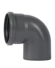 110 mm x 87° Bøjning PP grå