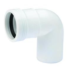 50 mm x 88,5° Wafix PP bøjning hvid