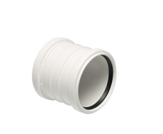 Decibel Dobbeltmuffe 110 mm