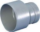 40 x 32 mm grå PP-afløbsreduktion lang model Magnaplast