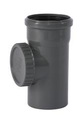 110 mm Renserør PP grå