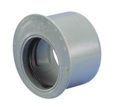 Wavin 110 x 75 mm grå PP-afløbsreduktion, kort model