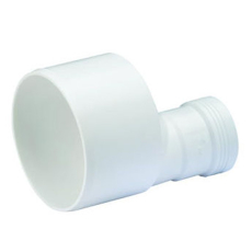 75 x 50 mm Wafix PP reduktion hvid