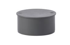 75 mm Prop afløb PP grå