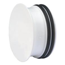 50 mm PP prop t/rørspids hvid