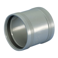 Wavin 32 mm grå PP-afløbsskydemuffe