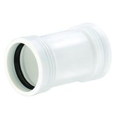 50 mm Wafix PP skydemuffe hvid