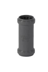 32 mm dobbelt muffe grå