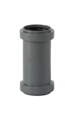 40 mm dobbelt muffe grå