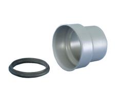 110 mm Overgangsstykke til støbejern Wavin