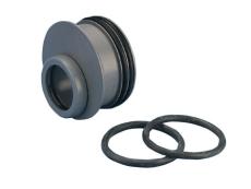 Wavin 110 x 75 mm grå PP-afløbsreduktion til rørspids