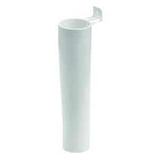 40 mm PP vaskemaskinetragt hvid