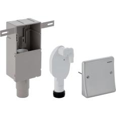 """1"""" x 50 mm Indbygningsvandlås til vaskemaskine Geberit"""