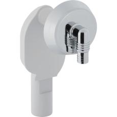 40 mm Vandlås til vaskemaskine hvid Geberit