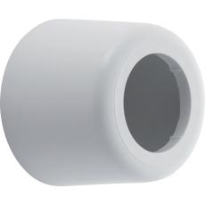 40 mm Roset hvid PP højde 35 mm Geberit