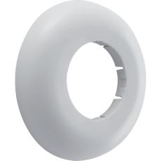 40 mm Roset hvid PP højde 15 mm Geberit