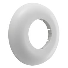 50 mm Roset hvid PP højde 15 mm Geberit