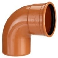 Kaczmarek 500 mm 88 gr. PVC-kloakbøjning