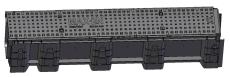 Uni-Seals 200/100 x 230/155 x 1000 mm banekanal med låg, HDP
