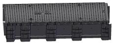 Uni-Seals 340/240 x 230/155 x 1000 mm banekanal med låg, HDP