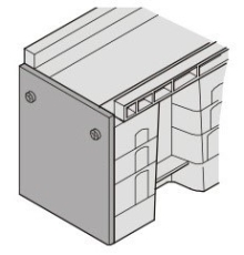Uni-Seals endestykke hun 200/100 x 230/155 mm til banekanal