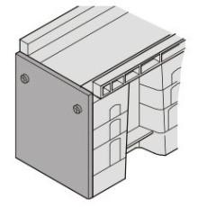 Uni-Seals endestykke hun 340/240 x 230/155 mm til banekanal