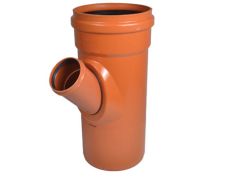 Wavin 315 x 160 mm 45 gr. LITE PVC-kloakgrenrør, SN4