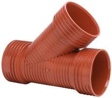 Uponor Double/Rib2/IQ 315 x 315 mm 45 gr. PP-gren, u/gummiri
