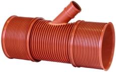 Uponor Double/Rib2 560 x 160 mm 45 gr. PP-grenrør, u/gummiri