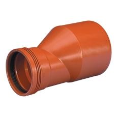 Wavin 160 x 110 mm PP-kloakreduktion, leveres i palle