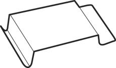 Wavin Aquacell clips til regnvandskassette