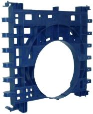Wavin Q-Bic Plus 600 x 600 x 315 mm tilslutningsplade