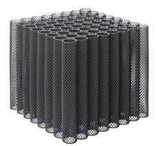 Expo-net Bio-Blok 80 HDG 540 x 540 x 550 mm faskine, 152 l