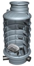 Kessel 1000 x 2680 mm brønd til indbygning af højvandssikrin