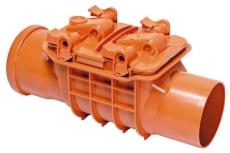 Kessel 110 mm kontraklap uden klap/renserør, model 70