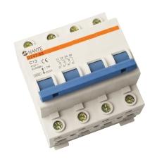 Automatsikring C 10A 3P+N 6kA