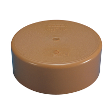 Wavin 160 mm PVC-kloakslutmuffe til limning