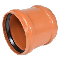 Wavin 315 mm LITE PVC-kloakskydemuffe, SN4