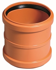 Ostendorf 110 mm PVC-kloakskydemuffe