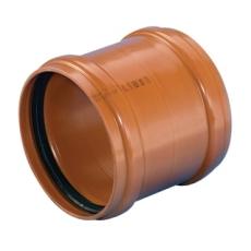 Wavin 250 mm PVC-kloakskydemuffe