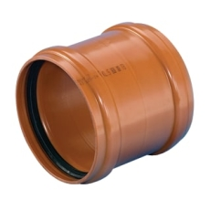 Wavin 500 mm PVC-kloakskydemuffe