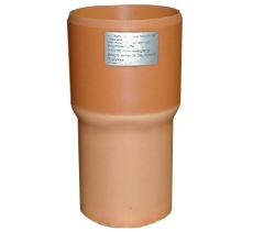 HL 110/94 x 110 mm ekspansionsovergang til 110 mm glat muffe