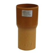 HL 110/80 x 110 mm ekspansionsovergang til 110 mm glat muffe