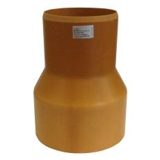 HL 110/126 mm krympemuffe med gummiring til DN100 støbejerns
