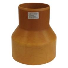 HL 110/154 mm krympemuffe med gummiring til 10 cm lerspids