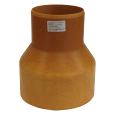 HL 160/198 mm krympemuffe med gummiring til DN150 støbejerns